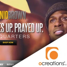 ocreations launches new site for Antonio Brown